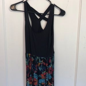 Mudd bright floral maxi dress